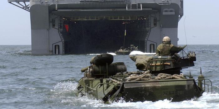 """美国海军陆战队将举行军演 直指 """"大国对抗""""挑战"""