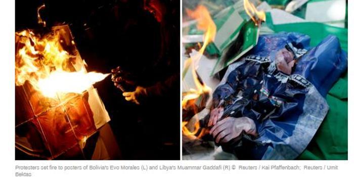"""普京警告:玻利维亚正处于""""利比亚式""""灾难边缘"""