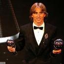 莫德里奇當選世界足球先生 打破梅西C羅10年壟斷