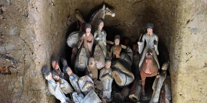 甘肃发现罕见吐谷浑王族墓葬 墓志首载