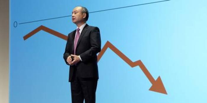 日媒:软银中期财报15年来首现赤字