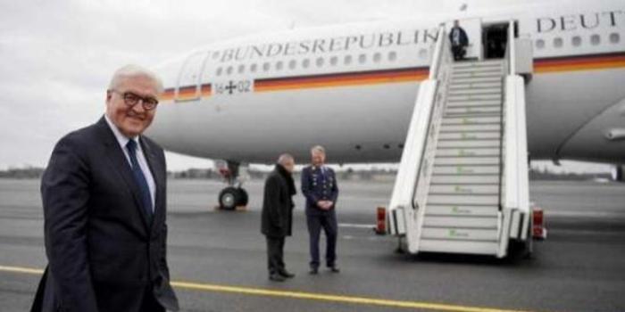 一年里第三次:德总统访非洲 专机又坏了(图)