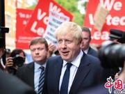 英国新任首相将揭晓 示威者围堵鲍里斯办公室