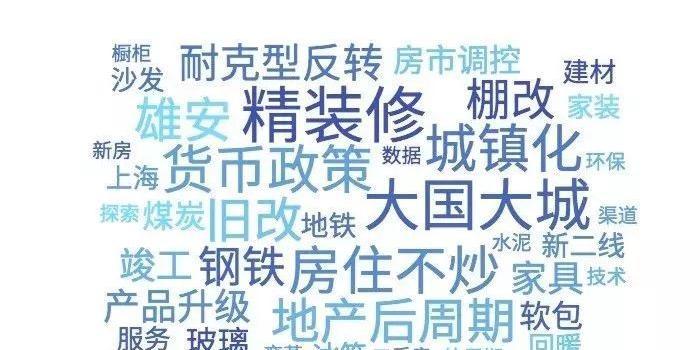 国泰君安:地产产业链在2020年的八个关键词