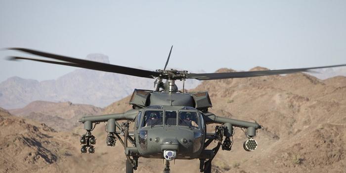 美军直升机在阿富汗疑被炮火击中坠毁 两名军人丧生