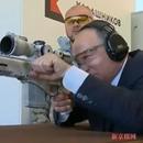 普京亲测俄新式狙击枪 距靶子600米处命中3枪(图)