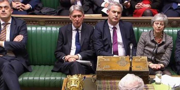 英媒:英国脱欧局势僵持不下拖累英镑下跌
