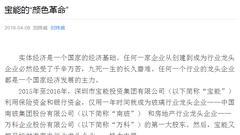 """刘姝威:宝能已开始经济领域""""颜色革命"""" 建议严惩"""