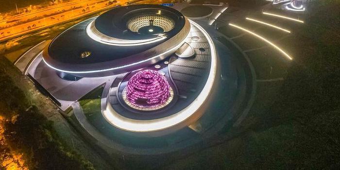 全球最大天文馆预计2021年开放 建筑工程基本竣工