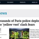 """爲避免""""黃馬甲""""週末鬧事,巴黎警方計劃出動7500名警察"""