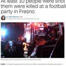 美发生枪击案10人中枪4人死 事发时35人在看比赛
