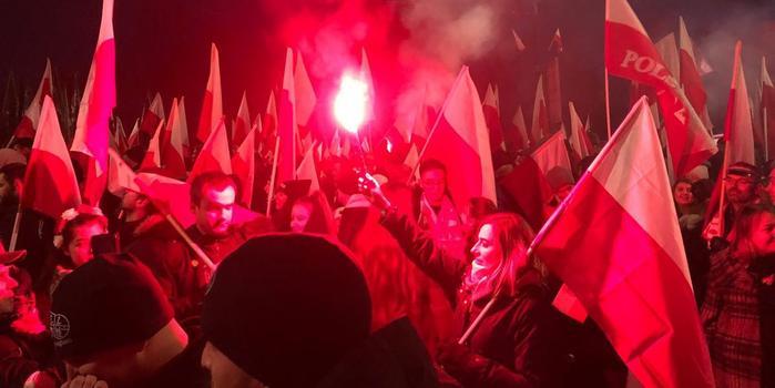 波兰极右翼游行庆祝独立日:西欧正在灭亡
