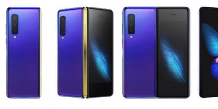 三星Galaxy Fold 2渲染图曝光:紫色配色