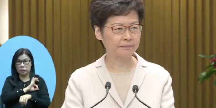 林郑:理大校方若成功游说示威者 警方将不会出动