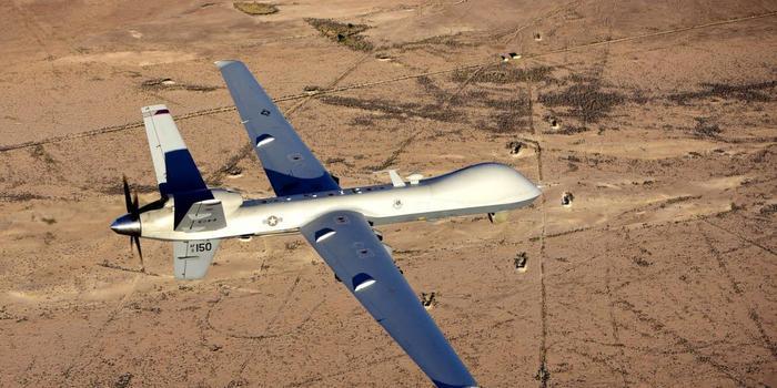 """美军称在利比亚""""丢失""""一架无人机 拒绝透露详情"""