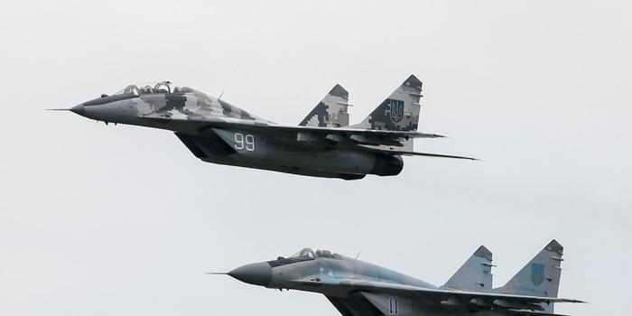 俄送蒙古国两架米格29 三十年来终于有了战斗机