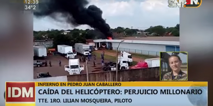 台援助巴拉圭的直升机飞3个半月坠毁 网友吐槽