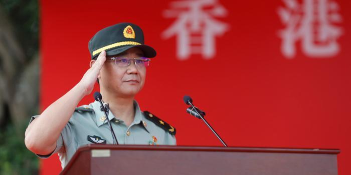 駐港部隊副政委陳亞丁:將堅決同邪惡分裂勢力作斗爭