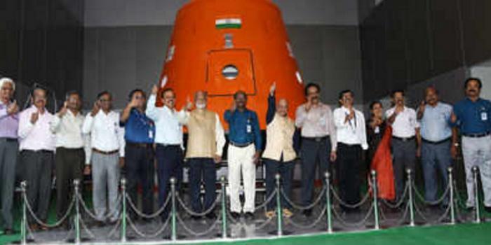 印度開始挑選10名航天員 計劃2021年實現載人航天