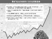 铁矿石价格大涨 国内钢厂谨慎观望提醒风险