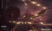 《EVE》万人吃鸡游戏《EVE:Aether Wars》新技术演示 战舰、导弹满天飞