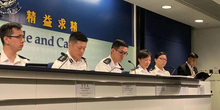 已有207人被落案起诉 香港警方:非最终数字