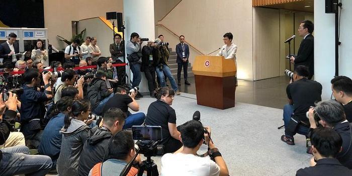 林郑月娥:表达任何诉求不应诉诸暴力