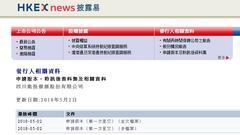 四川能投发展提交香港上市前文件