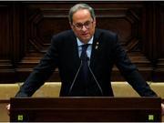 骚乱升级 加泰罗尼亚领导人呼吁同西班牙政府和谈