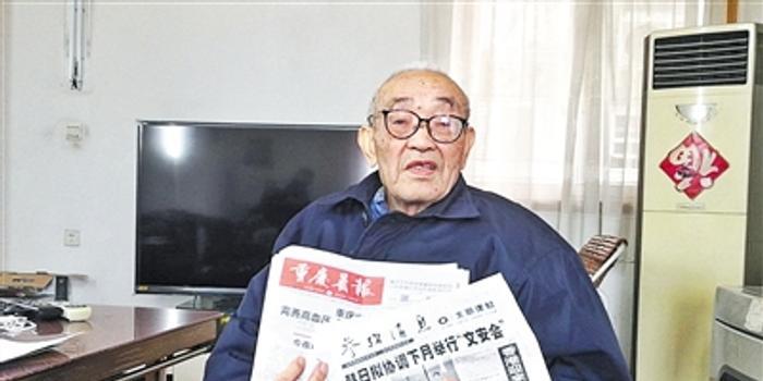 92岁教授能背诵400字诗文:记忆力有天赋更需锻炼