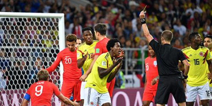 英格兰点球大战总比分5:4淘汰哥伦比亚 晋级八