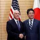 美副總統會安倍大談自由開放印太 日本卻有小九九