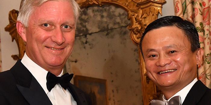 比利時授予馬云皇冠勛章 表彰其倡導企業家精神