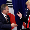 川普任上首份雙邊貿易協議!美韓簽署貿易修正協議