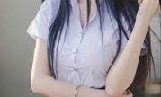 """泰国""""超仙""""学生妹 外表清秀甜美,傲人上围呼之欲出"""