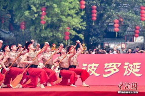 """千年庙会""""波罗诞""""在广州南海神庙开幕"""