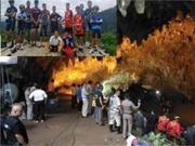 生死救援!泰被困足球队获救 数千人参与营救牵动全泰国人民的心
