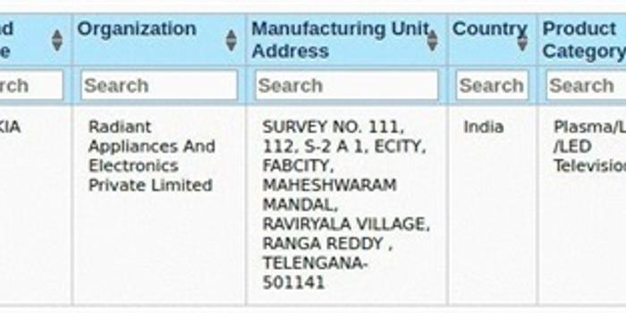 诺基亚电视通过BIS认证:55英寸 即将登陆印度市场