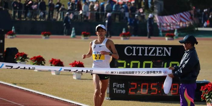 2 07 19 日本大迫杰跑出17年马拉松亚洲最佳