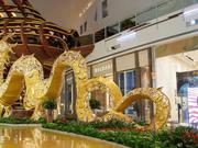 美国拉斯维加斯庆祝中国农历新年 龙狗为主角
