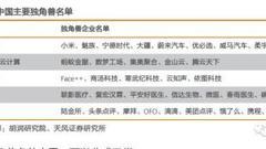 给富士康速度点赞! 中国有哪些独角兽企业?