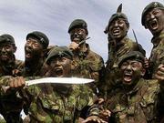特金会安保团队曝光 被誉为世界最勇猛战斗部族之一