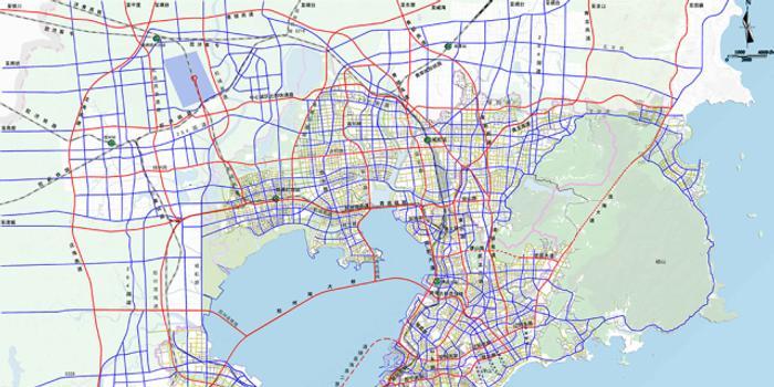 青岛市中心城区道路网规划出炉,怎样发展,看完就