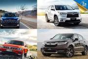 途观L首付6万、月供4千,看看你的工资够买哪款中型SUV?
