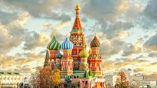 俄罗斯圣瓦西里大教堂,无与伦比的美!