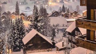 这个冬天想到瑞士看雪景