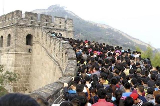 预测称中国国庆中秋黄金周旅游人次7.1亿 近全球一成人口