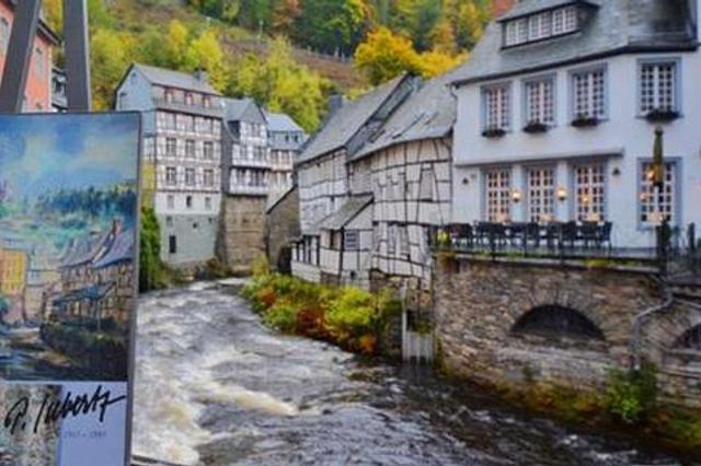 风景如画的德国小镇