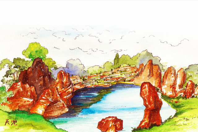 走进红石林 探寻5亿年的时光秘密