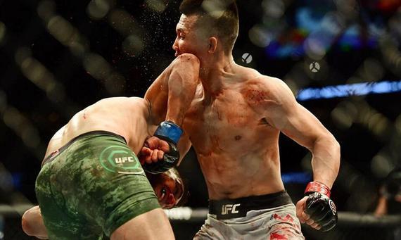 2018年UFC十大最佳KO:罗德里格兹压哨KO韩国僵尸